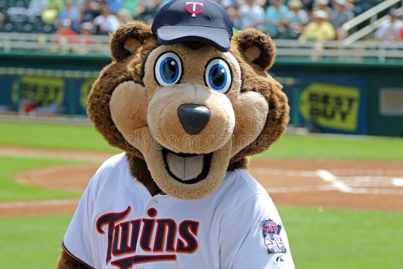 TC - The Mascot of the Minnesota Twins royalty free stock photo