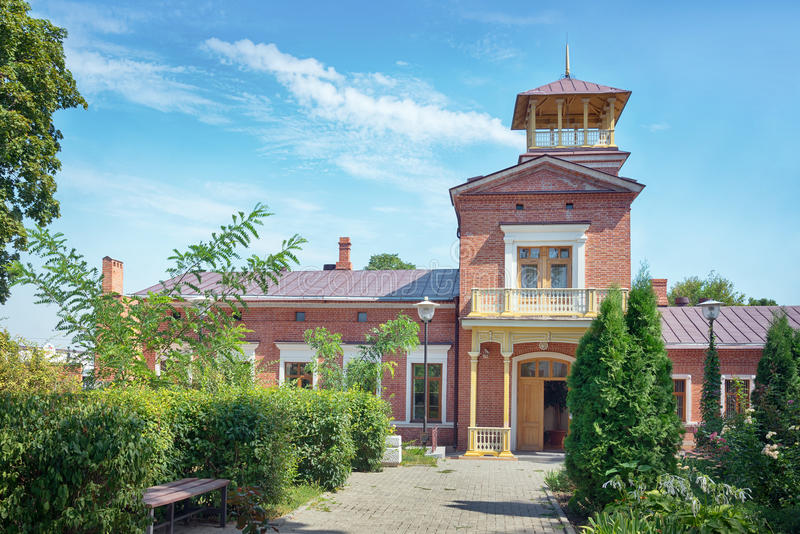 Tchaikovskyhuis in Taganrog, Rusland royalty-vrije stock foto's
