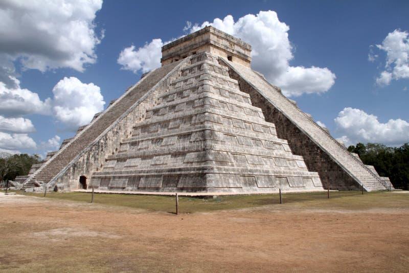 Tchetcheense Itza-piramide royalty-vrije stock fotografie