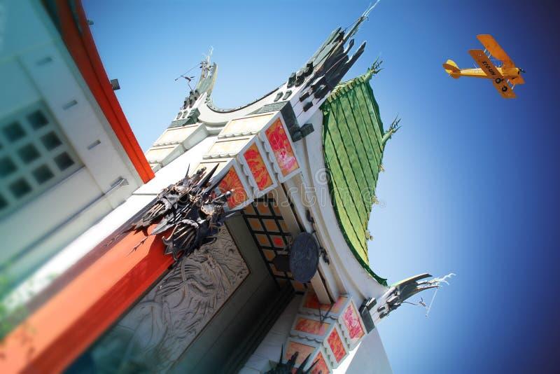 TCL中国剧院,好莱坞 库存图片