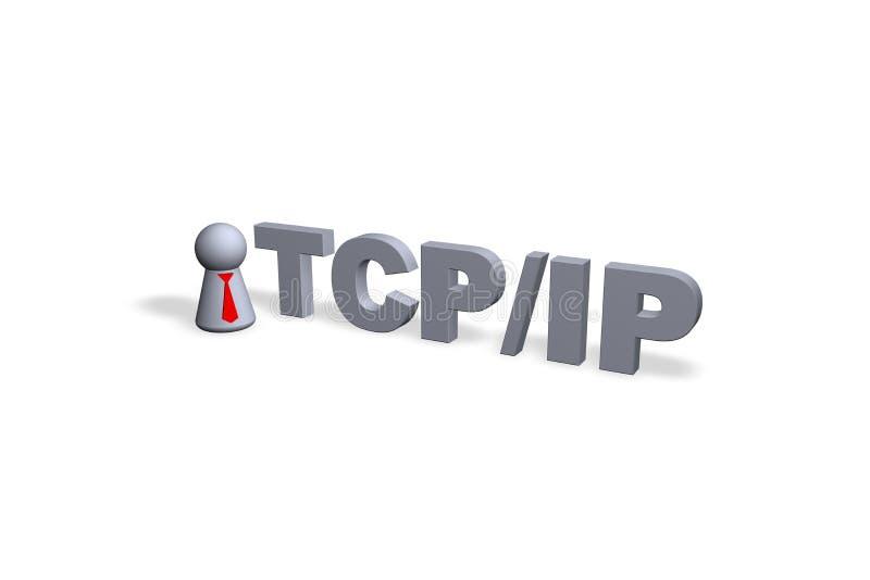 TCP/IP ilustração do vetor
