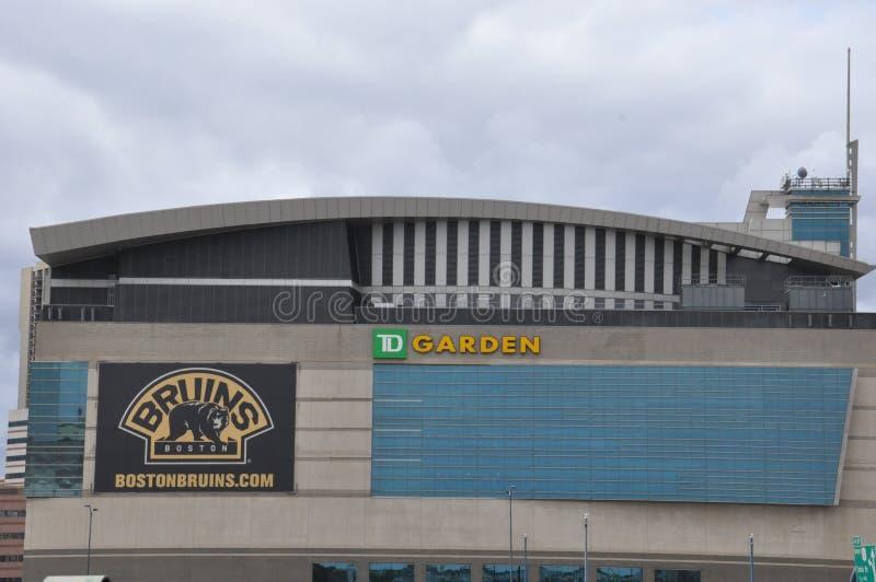 TD在波士顿从事园艺 免版税库存图片