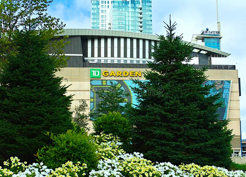 TD庭院波士顿 免版税图库摄影