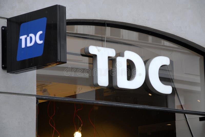 TDC imagem de stock