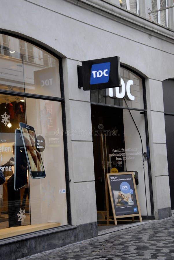 TDC fotografia de stock
