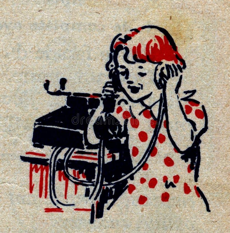 te? le? phone-2 stock afbeelding