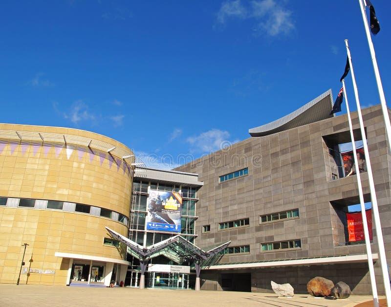Te爸爸博物馆-惠灵顿-新西兰 库存图片