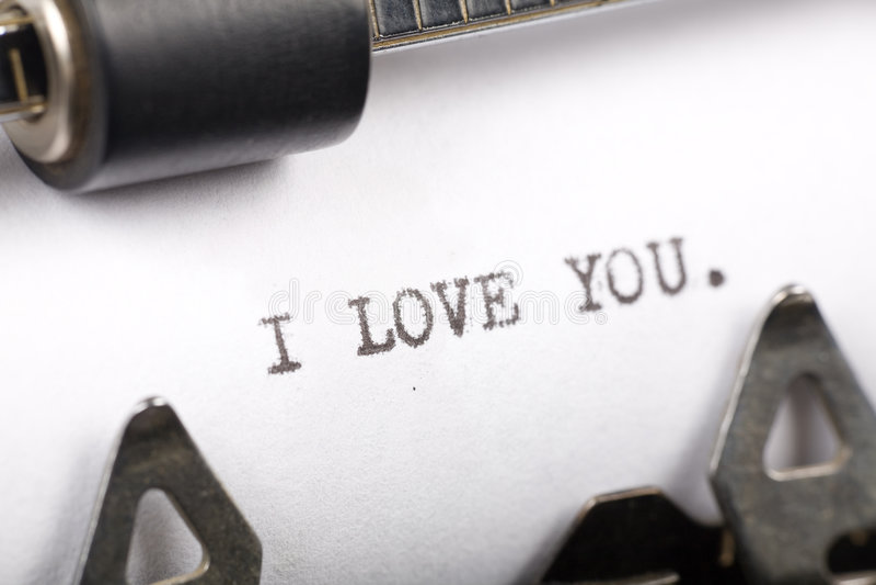 Te amo imagen de archivo
