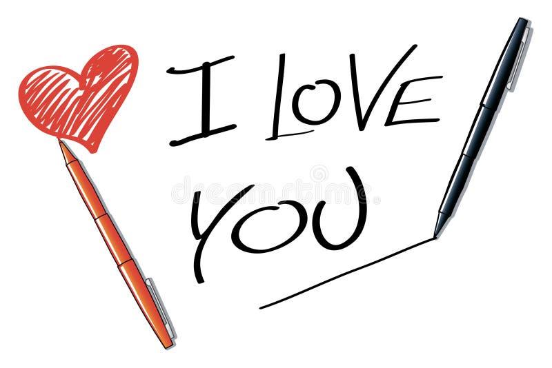 Te amo libre illustration