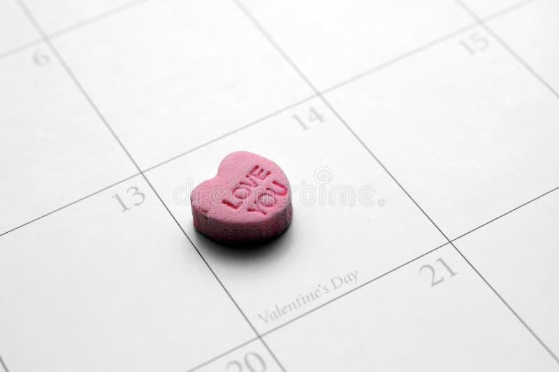 Te amo tarjeta del día de San Valentín fotos de archivo