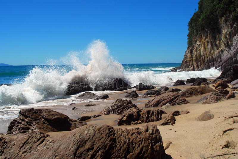 Download Te Ananui Beach stock image. Image of landscapes, zealand - 11865385