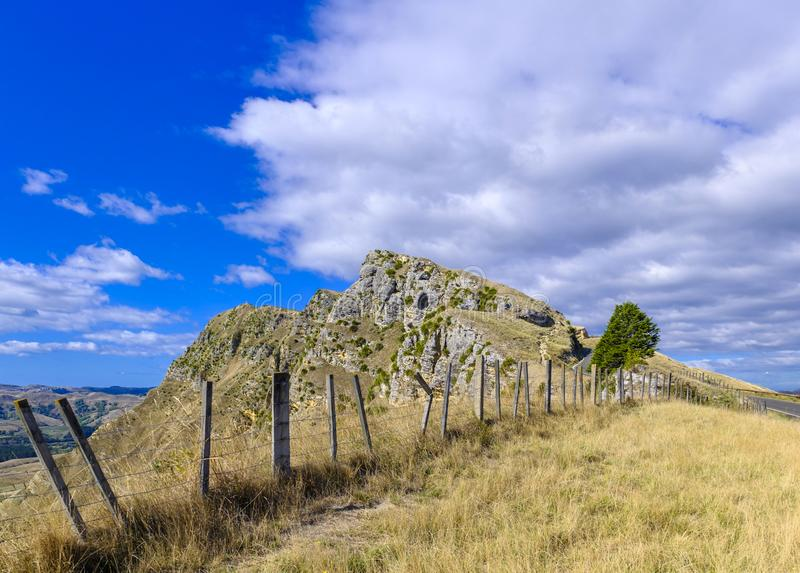 Te Mata Peak en Nueva Zelanda imagen de archivo
