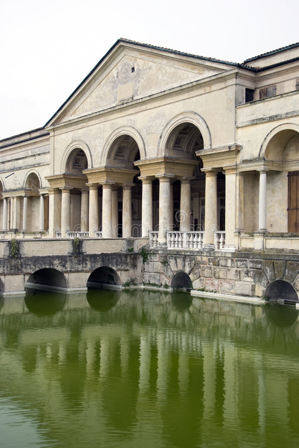 Te palace - Mantova - Italy. Te Palace in Mantova - Italy stock images