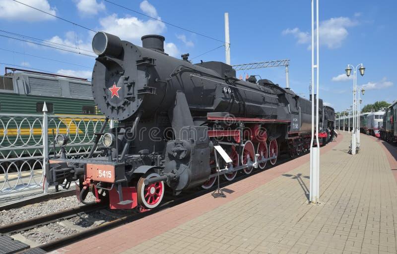 TE Series locomotivo (trofeo, serie equivalente E) TE-5415 immagine stock