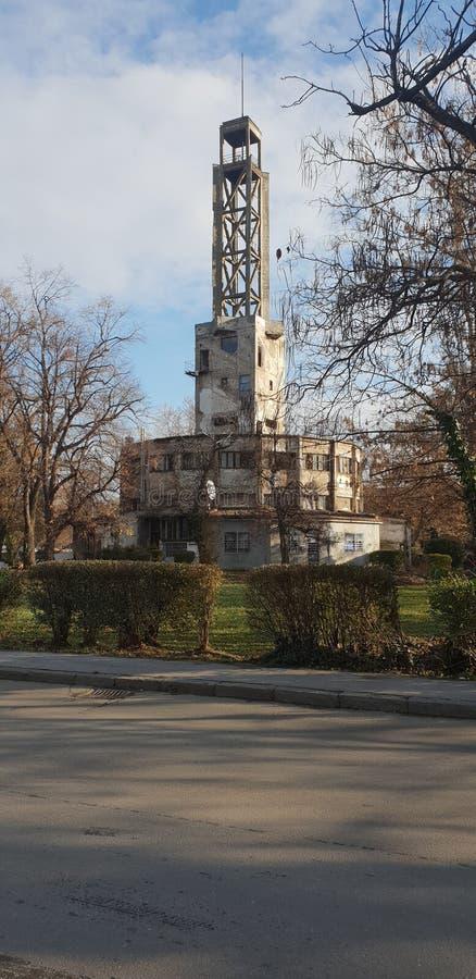 Te Zemun Belgrado Serbia del ¡de Concentrationcamp SajmiÅ fotografía de archivo libre de regalías