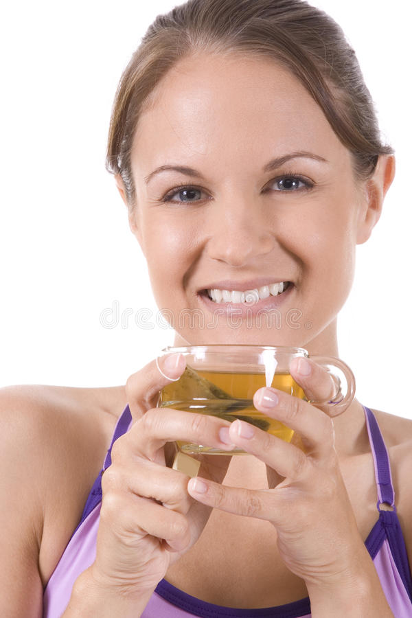 Download Tea stock photo. Image of morning, female, beauty, glass - 10401922
