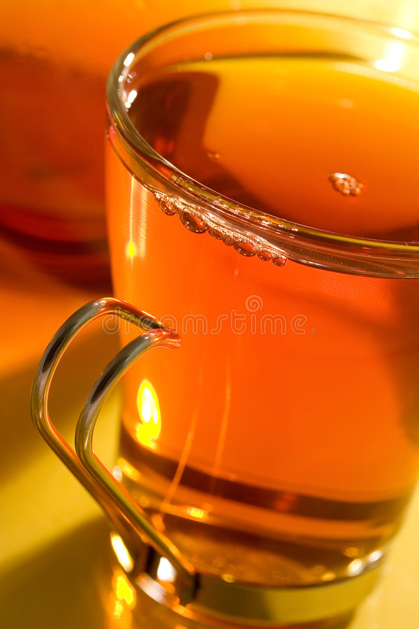 Download Tea stock image. Image of glass, liquid, steam, freshness - 524837