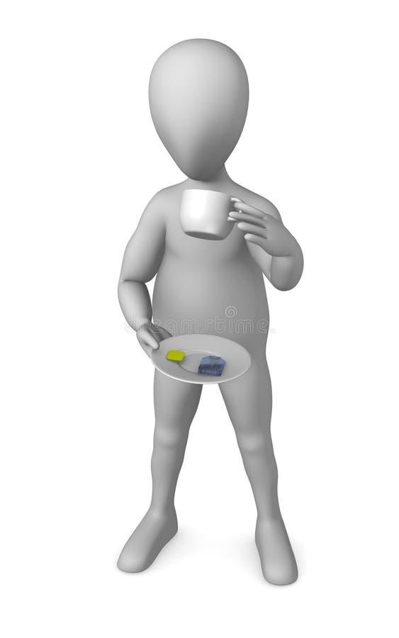 Download Tea bag stock illustration. Illustration of illustration - 14856137