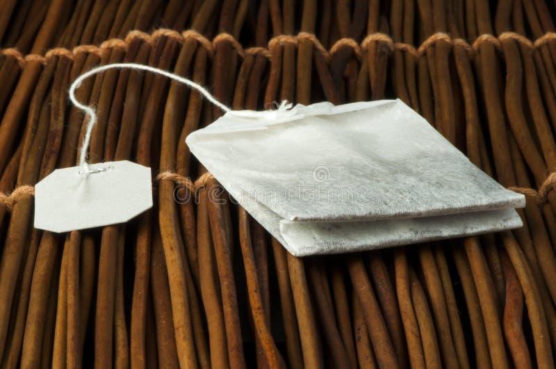 Tea bag stock image
