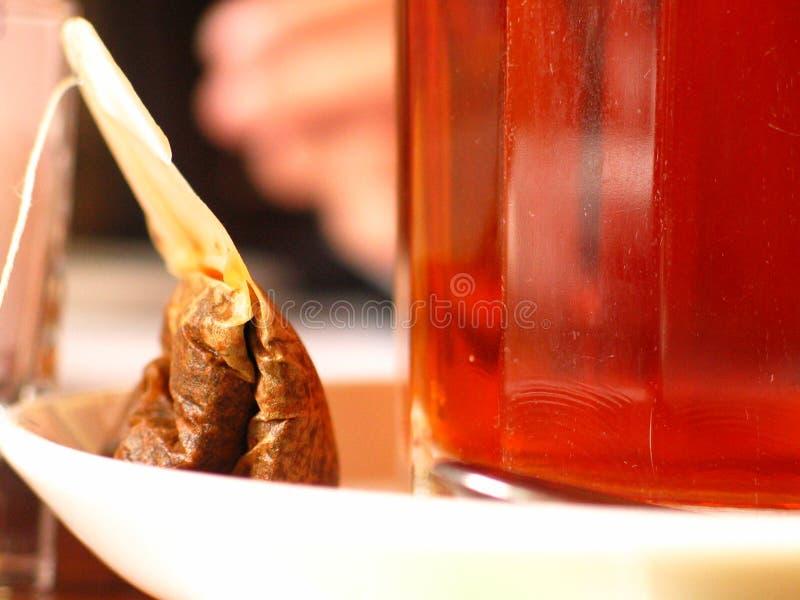 Tea bag stock photos