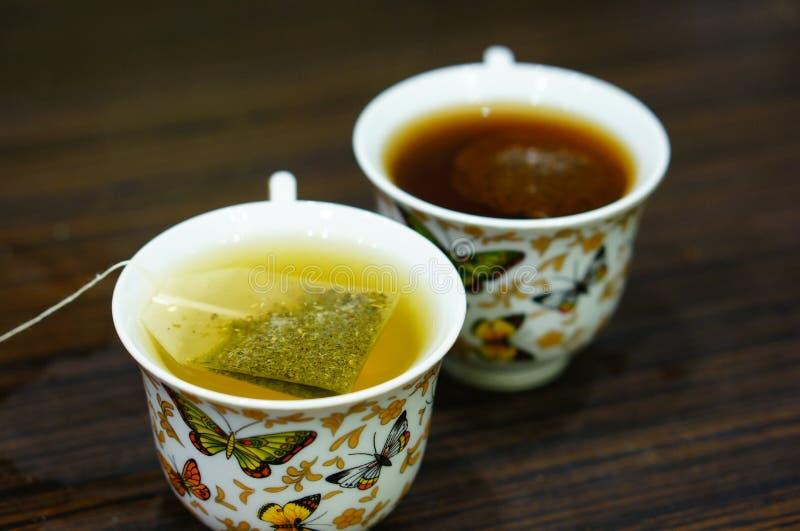 Tea bag stock photography