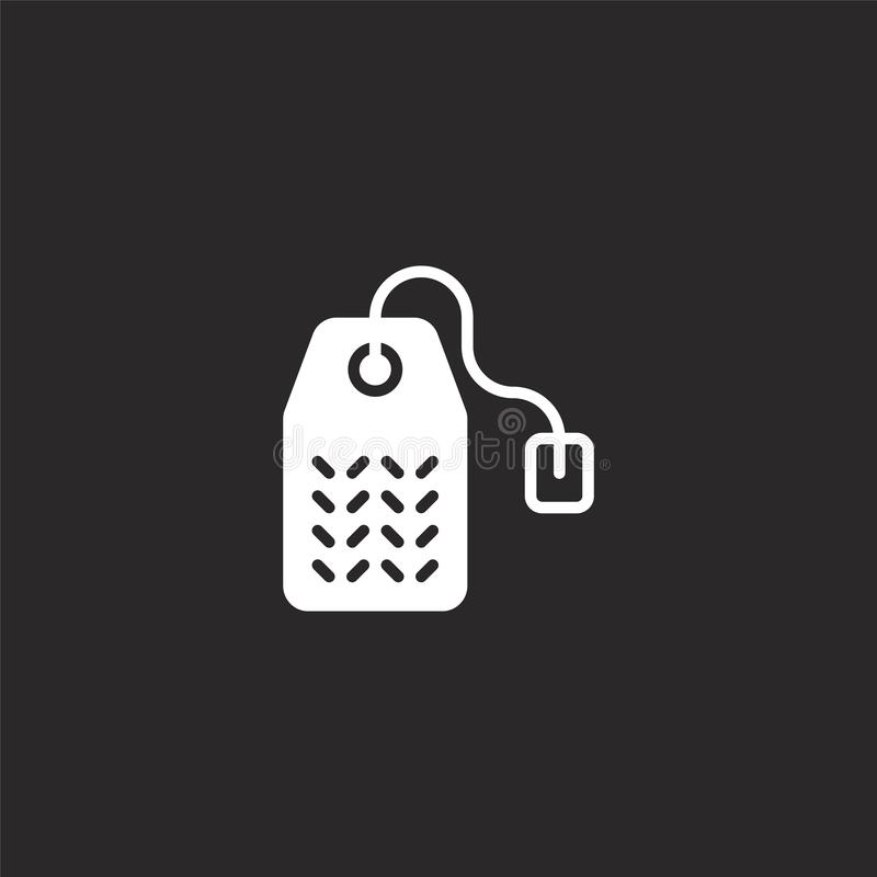 tea bag icon filled tea bag icon for website design and mobile app development tea bag icon from filled food collection stock vector illustration of isolated graphic 157809066 dreamstime com