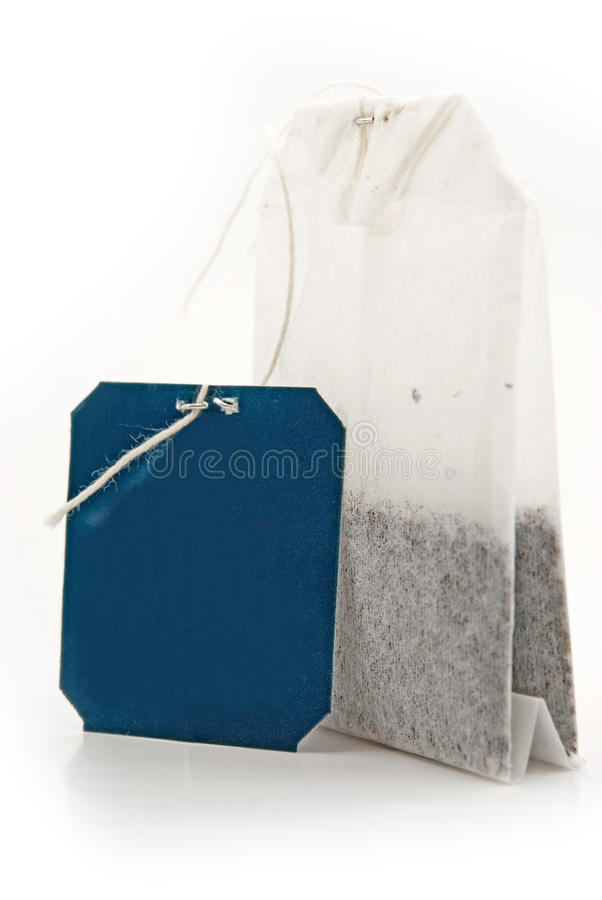 Free Tea Bag With A Label Stock Images - 23772114