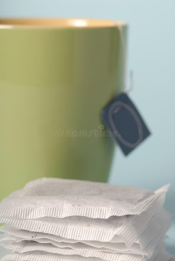 Tea bags royalty free stock photos