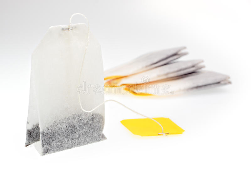 Download Tea bags stock image. Image of paper, string, dried, yellow - 25405765