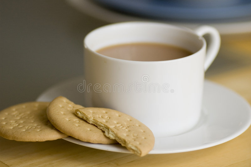 Download Tea And Biscuits Royalty Free Stock Photography - Image: 1159437