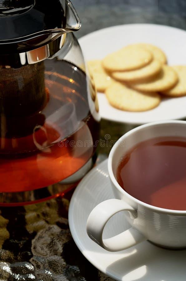 Tea break stock photos