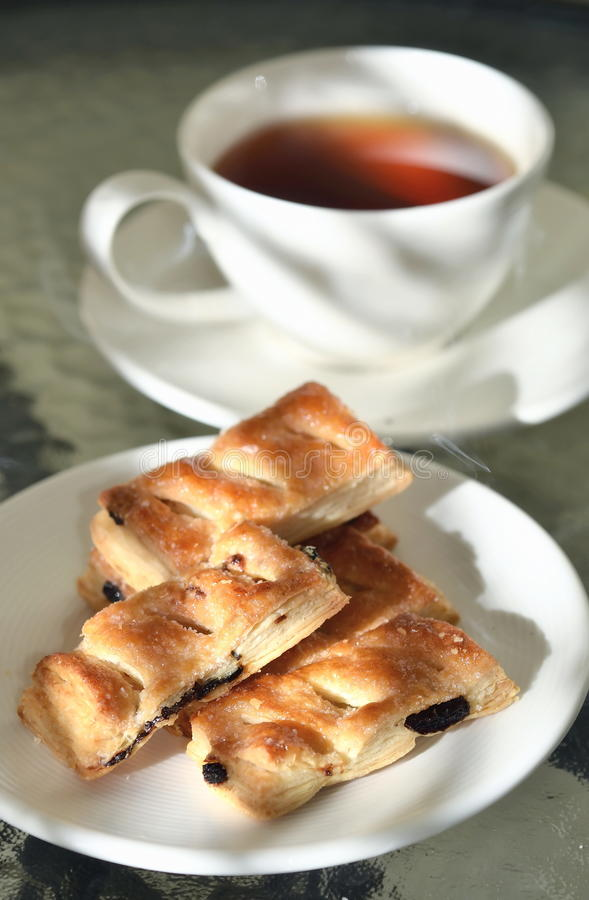Tea Break with biscuits 05 royalty free stock images