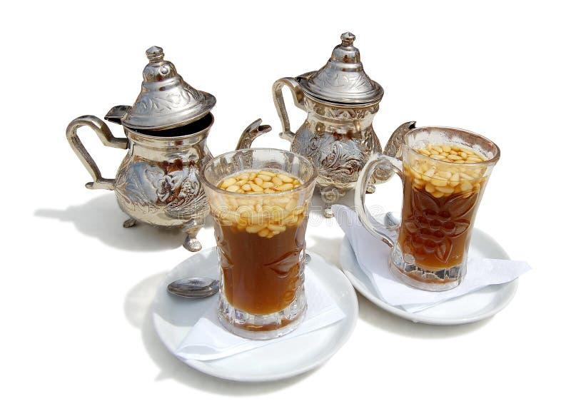 Tea with cedar nutlets on-tunisia