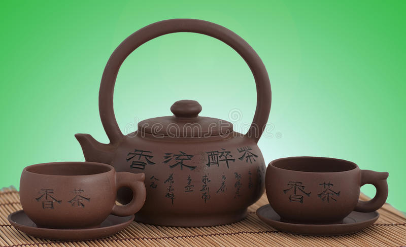 Download Tea ceremony stock photo. Image of concept, green, brown - 23723758