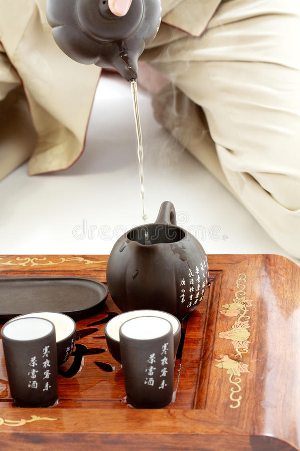 Download Tea ceremony stock image. Image of harmony, gunpowder - 41647305