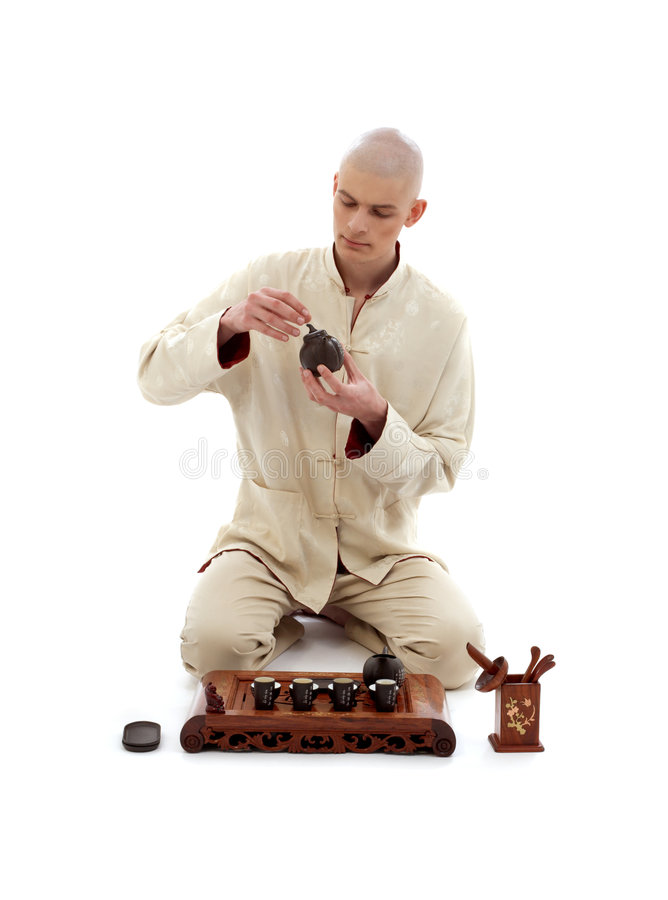 Tea ceremony master #2 stock photo