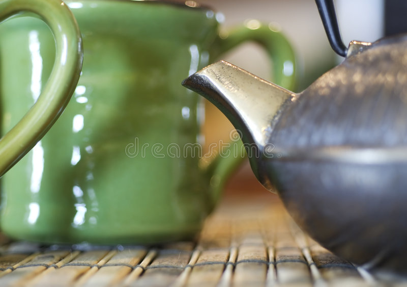 Tea in China Shop royalty free stock images