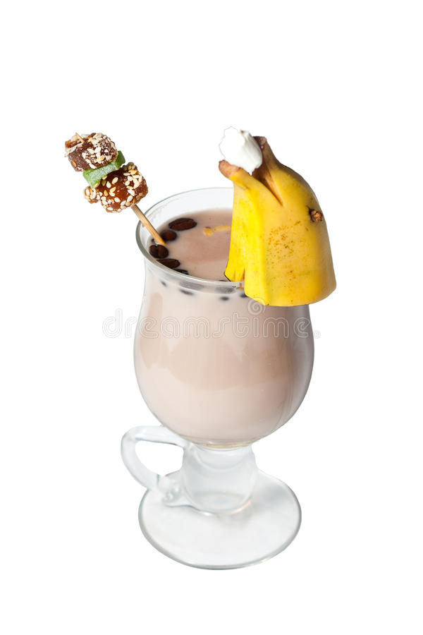 Download Tea cocktail stock photo. Image of banan, drink, cocktail - 12543824