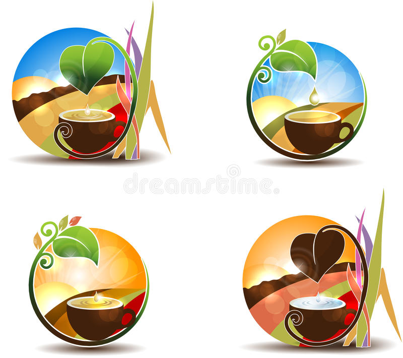 Tea concept royalty free illustration