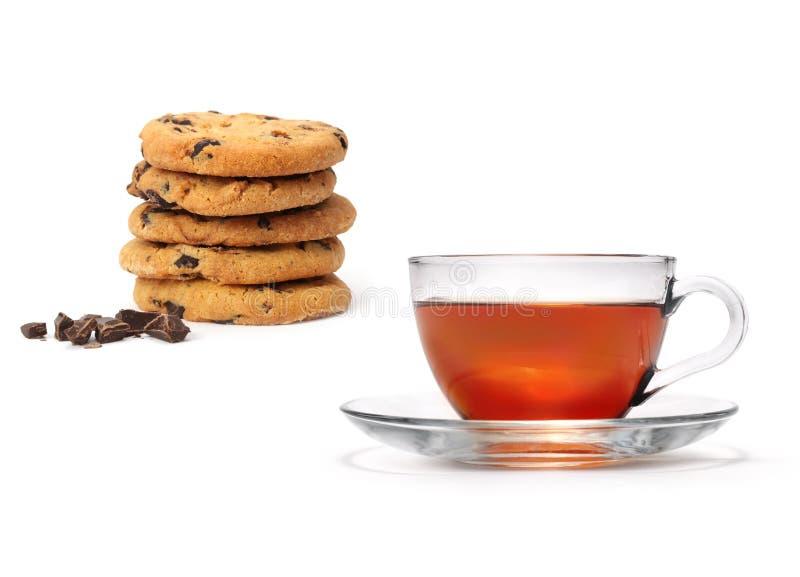 Download Tea and cookies stock image. Image of biscuit, food, liquid - 20306477