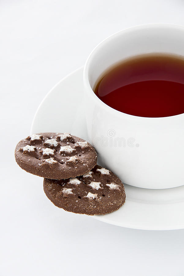 Download Tea and cookies stock photo. Image of break, sugar, aroma - 36695884