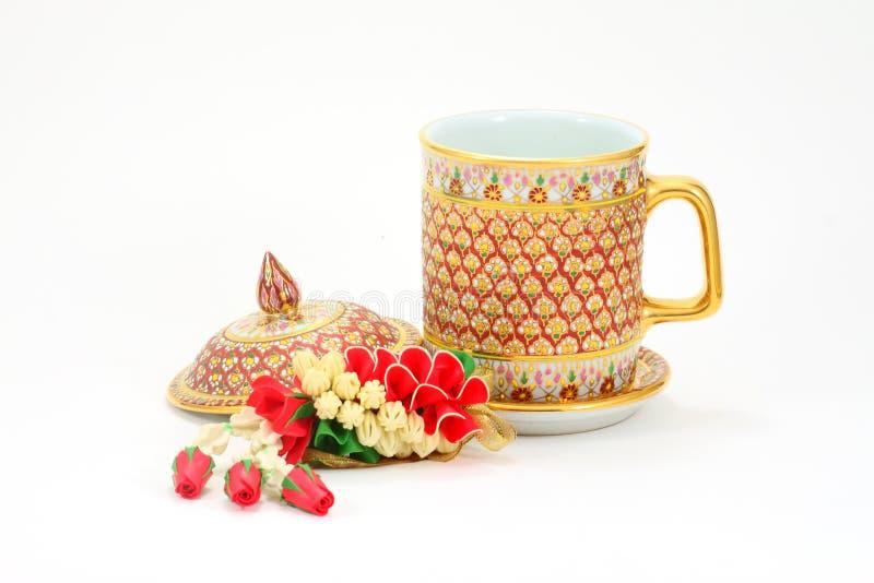 Tea cup stock photos