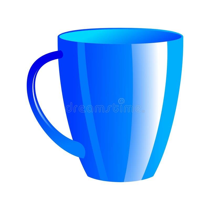 Tea cup royalty free illustration