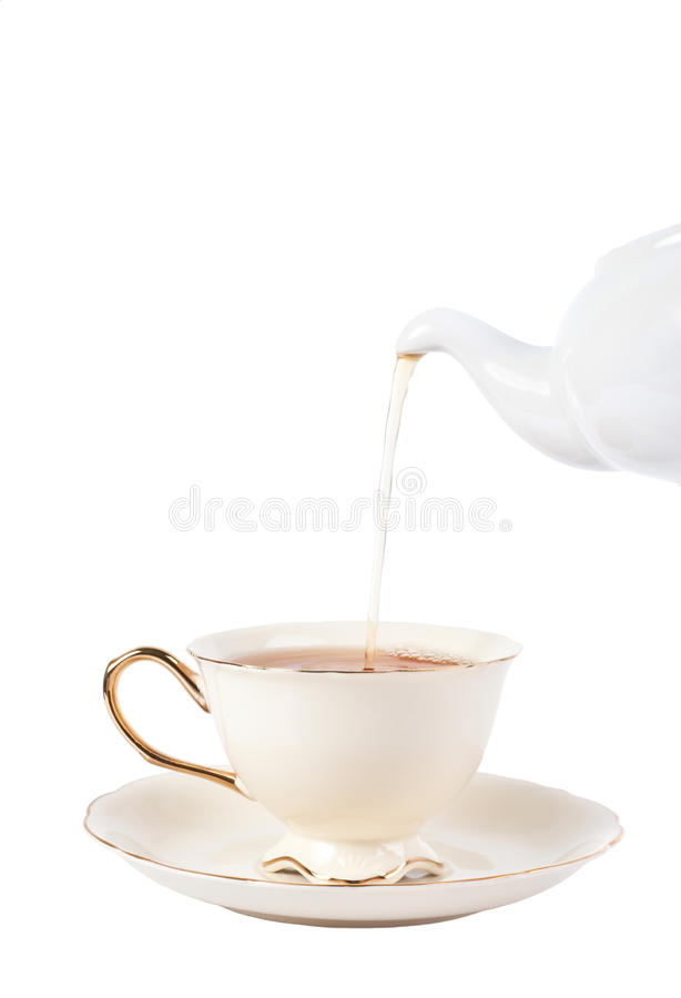 Download Tea cup stock image. Image of crockery, concept, teapot - 23222783