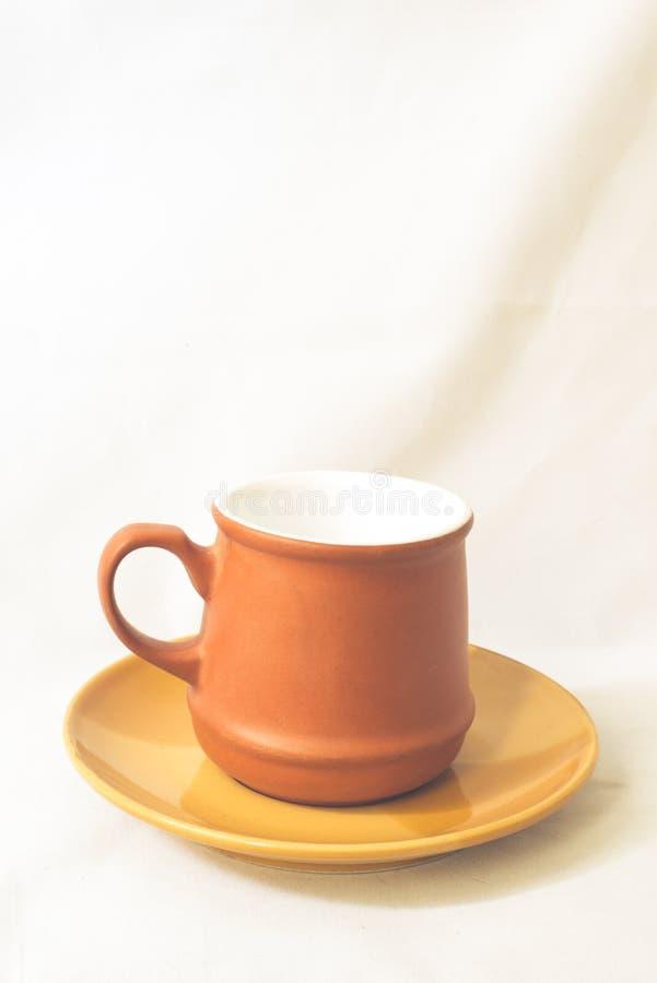 Tea cup and dish stock photos