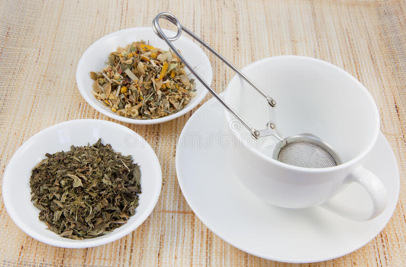 Download Tea Cup And Herbal Teas Royalty Free Stock Photos - Image: 18870738