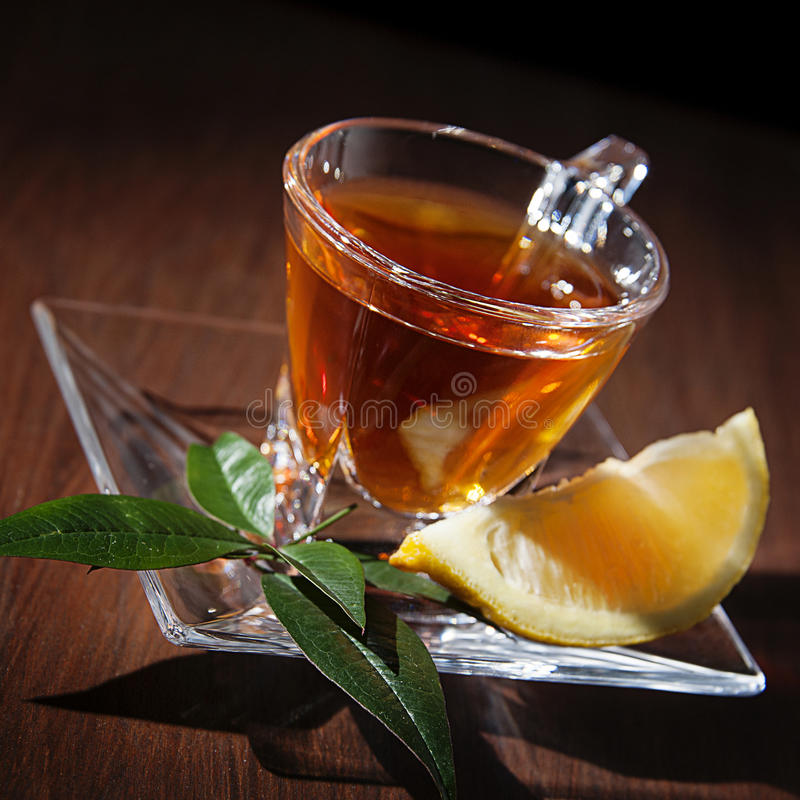 Download Tea cup and lemon stock photo. Image of healthy, enjoyment - 37417374
