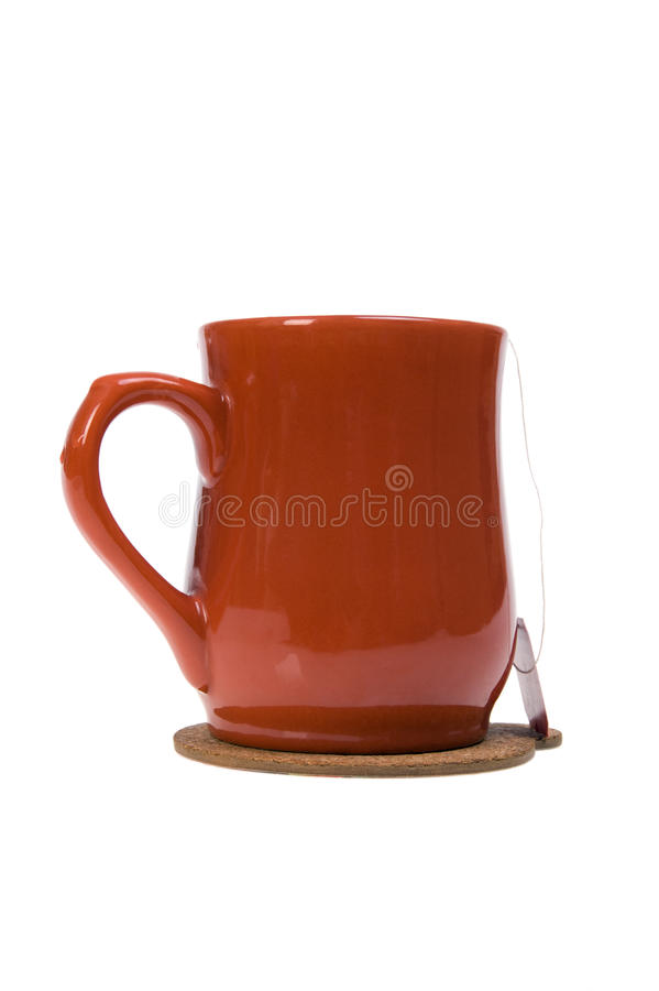 Download Tea cup with tea bag stock photo. Image of teacup, nobody - 15275852