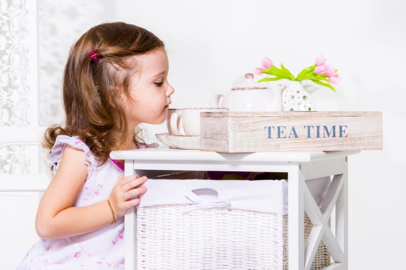 Download Tea cups stock image. Image of portrait, sweet, positive - 28824387