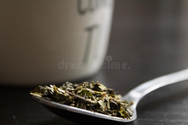 Tea and cups royalty free stock photography